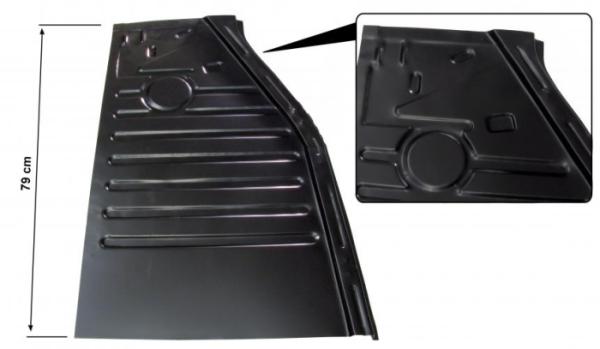 Halbe Bodenplatte vorne / rechts Bild 1