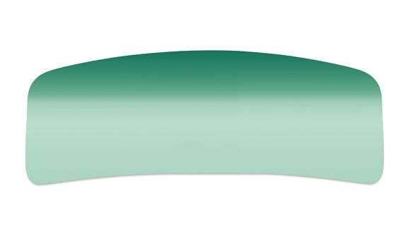 Windschutzscheibe grün Cabrio mit Blendstreifen