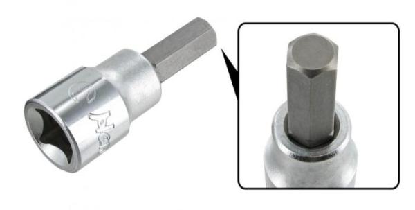 Aufsatz Inbus 8mm - 3/8 Zoll Anschluss Bild 1