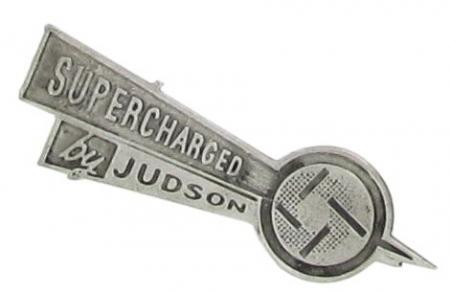 Abzeichen Armaturenbrett Supercharged by Judson klein Bild 1