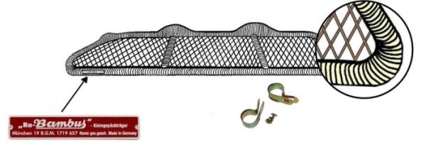 Gepäckhalter Cabrio Kunststoff Bild 1