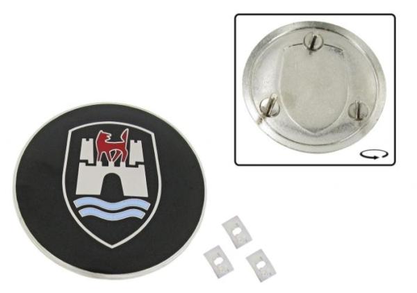 Emblem Wolfsburg emailliert Bild 1
