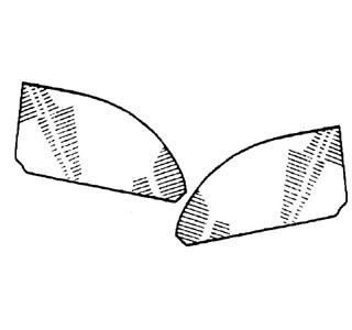 Seitenscheibe hinten Cabrio Bild 1
