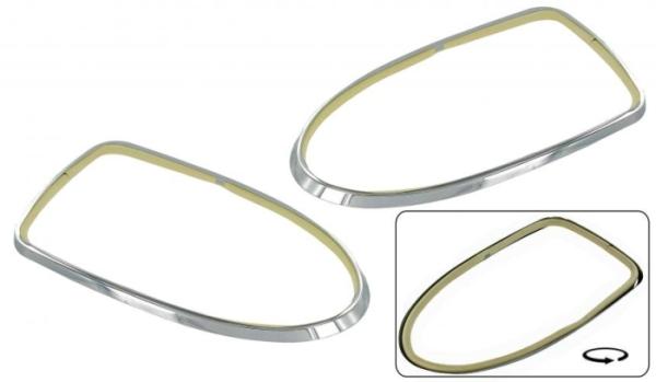 Chrom-Ringe Rücklicht Bild 1