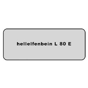 Farb-Code Aufkleber L 80E hellelfenbein Bild 1