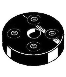 Lenkgetriebekupplung - Hardyscheibe A-Qualität Bild 1