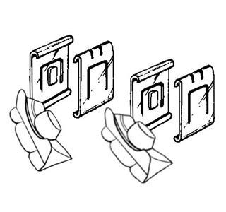 Gleitstück Sitzkufen 8/80» Bild 1
