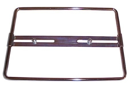 Kennzeichenhalter Chrom hinten 34x21.0cm Bild 1