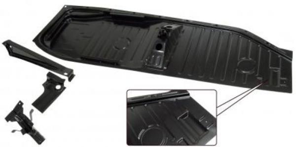 Komplette Bodenplatte links A-Qualität mit Sitzaufnahme Bild 1