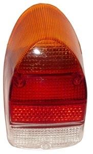 Glas Rücklicht orange / rot / klar A-Qualität Bild 1