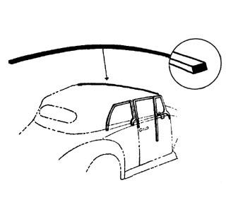 Dichtung Verdeck Windschutzscheibe Bild 1