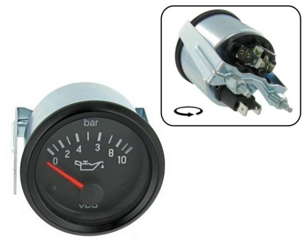 Öldruckanzeige VDO 10 Bar Bild 1