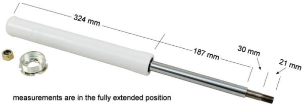 Stoßdämpfer für verstellbare Federbeine Bild 1