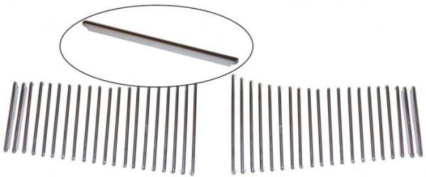 Gitter Heckscheibe Aluminium Bild 1