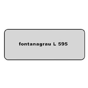 Farb-Code Aufkleber L 595 fontanagrau Bild 1