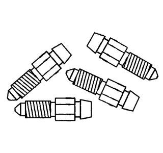 Entlüftungsnippel für Bremssattel Bild 1