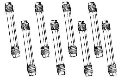 Stösselstangenrohre Standard unbehandelt Bild 1