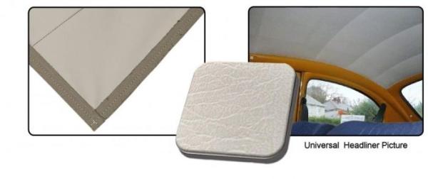 Dachhimmel weiß Vinyl glatt / nur Dachteil Bild 1