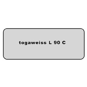 Farb-Code Aufkleber L 90C togaweiss Bild 1