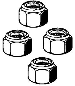 Mutter Spurstange selbstsichernd M12x1.5 Bild 1