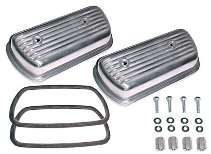 Ventildeckel Set Aluminium Schraubsystem Bild 1