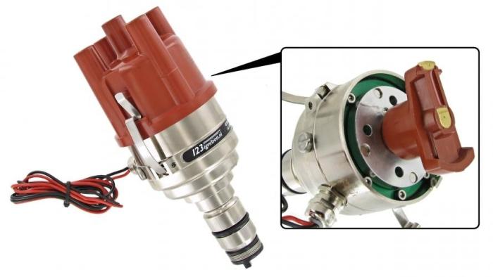 Z/ündkabel f/ür Auto-Autoersatzteile 8 mm Silikon-Z/ündkabel rot