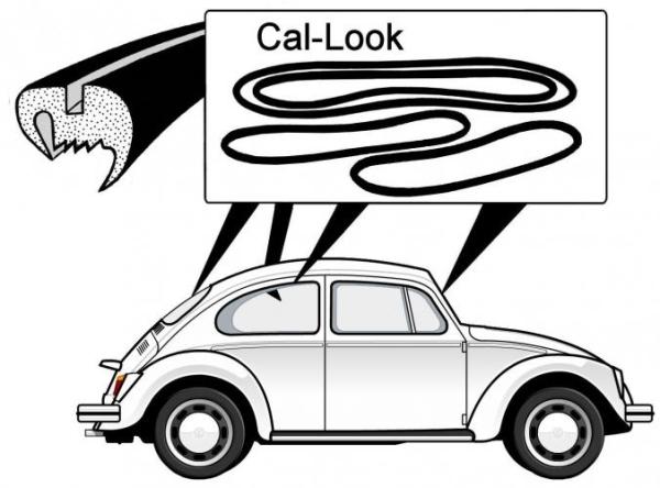 """""""Cal look"""" Dichtungsset Bild 1"""