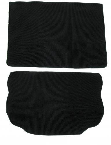 Kofferraumteppich schwarz | 1302