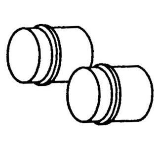 Verbindungsrohre Heizungsschlauch Bild 1