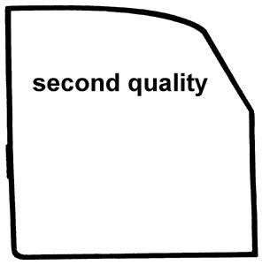 Türdichtungen B-Qualität rechts Bild 1