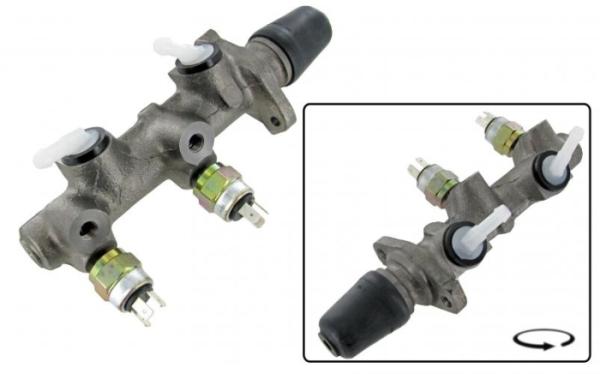 Hauptbremszylinder Zweikreisbremse A-Qualität Bild 1