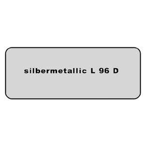 Farb-Code Aufkleber L96D silbermetallic Bild 1