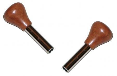 Türsicherungsknopf Palisanderholz Bild 1
