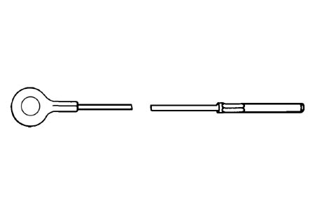 Gaszug Innen LHD / RHD Bild 1