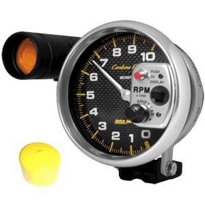 Drehzahlmesser Shift Light Carbon / weiß Bild 1