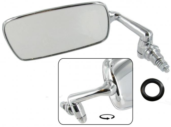 Rückspiegel B-Qualität verchromter Stahl / Links Bild 1