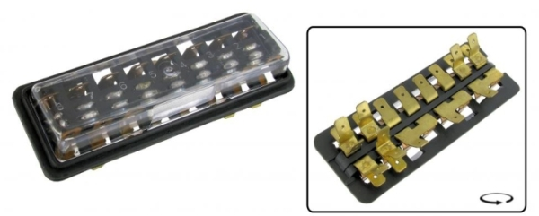 Sicherungskasten 8 Sicherungen mit Deckel Bild 1