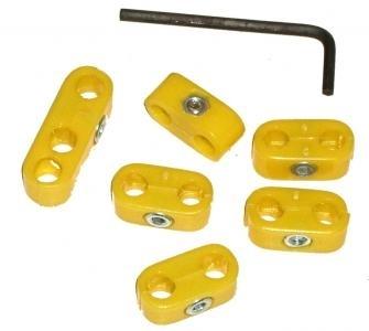 Clips Zündkerzenkabel gelb Bild 1