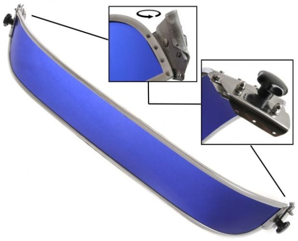 Sonnenblende Frontscheibe blau Bild 1