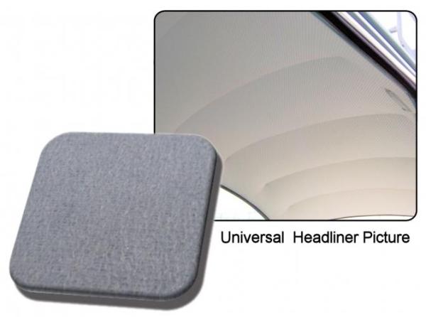 Dachhimmel grau Mohair Stoff / ohne Faltdach Bild 1
