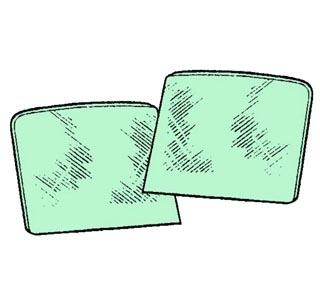 Türscheibe grün getönt Bild 1