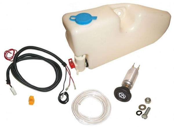 Umbauset elektronische Wischwasserpumpe 12Volt mit Tank 1200 - 1300 - 1500 8/67» Bild 1