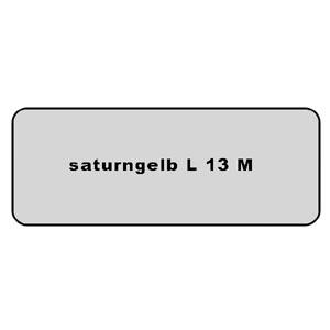 Farb-Code Aufkleber L 13M saturngelb Bild 1