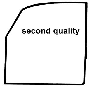 Türdichtungen B-Qualität links Bild 1