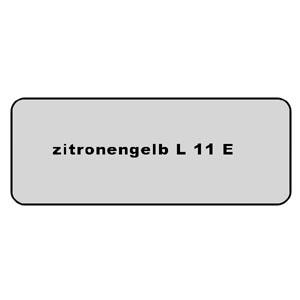 Farb-Code Aufkleber L 11E zitronengelb Bild 1