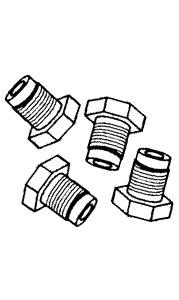 Schrauben Bremsleitung Bild 1