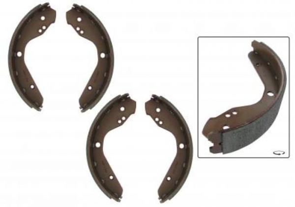 Bremsbacken B-Qualität vorne 1302 / 1303 Bild 1