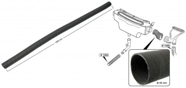 Verbindungsschlauch Gebläsekasten Karton Bild 1