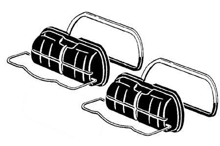 Spannbügel Ventildeckel Standard schwarz Bild 1