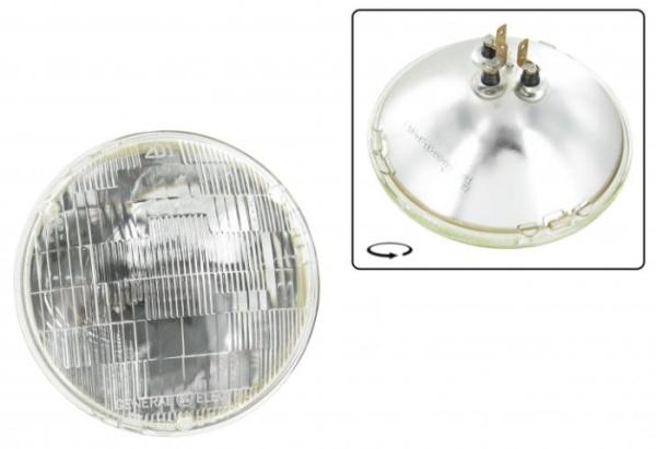Scheinwerfer Sealed-Beam 6V 50-40W Bild 1